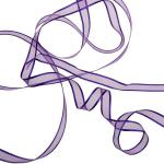 063-20830-EP £11.5 Purple Organza Satin Edge Ribbon - 10mm X 50m...  Click to view