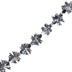 200-22132-270FG £5 Foil 270cm Flower Burst Garland - Silver...  Click to view