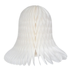 201-02669-020-WH £4.5 White Flame Resistant Honeycomb Paper Bell - 20cm...  Click to view