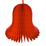 201-02669-040-RD £18.25 Red Flame Resistant Honeycomb Paper Bell - 40cm...  Click to view