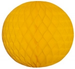 201-03118-GD-30 £3 Gold Flame Resistant Honeycomb Paper Ball Hanging ...  Click to view