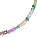 201-08227 £4.75 Multicoloured Flame Resistant Paper Garland - 4m...  Click to view