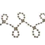 202-01363-OY £3.5 Oyster Bead Chain Garland - 8mm x 10m...  Click to view