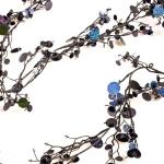 202-05133-BK £4 Black Laser Sequin Garland - 180cm...  Click to view