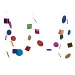 202-10340 £6.25 Multicoloured Mirror Garland 1.8m...  Click to view