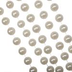 202-13639-CR £5 Cream Bead Chain Garland - 2.7m...  Click to view