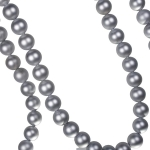 202-16237-SL-MT £7 Silver Matt Bead Chain Garland - 180cm...  Click to view