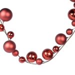 202-16314-RD £18 Red Decorative Bauble Garland - 1.2m...  Click to view