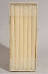 203-02582-IV £7.75 12 Pack Of Ivory Taper Candles - 2cm x 25cm...  Click to view