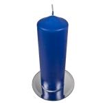 203-15543-21-BL £7.5 Vibrant Blue Non Drip Church Candle - 21cm x 7cm...  Click to view