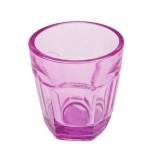 203-22098-PK £1 Pink Glass Tealight Candle Holder - 65mm...  Click to view