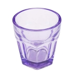 203-22098-PU £1 Lavender Glass Tealight Candle Holder - 65mm...  Click to view