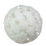 204-21346-WH-250 £18 White 3D Star Bauble - 250mm...  Click to view