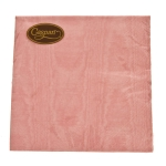211-02530-PI £3 Dinner Napkins - Moire Petal Pink...  Click to view