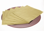 211-04285-GD £2.6 Packet of 20 Gold Dinner Napkins...  Click to view