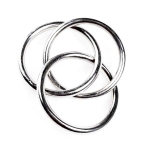 212-02286 £2.8 Silver 3 Banded Nickel Finish Napkin Ring...  Click to view