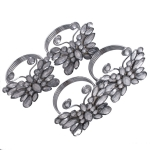 212-11994 £15.5 Silver Jewelled Butterfly Napkin Rings - Pack Of F...  Click to view