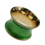 212-20370-LG £2 Peggy Wilkins Lime Green Solar Design Napkin Ring...  Click to view