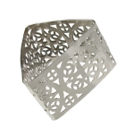 212-21714 £3 Silver Celtic Style Triangle Napkin Ring...  Click to view