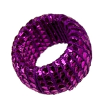 212-22016-PK £1.75 Pink Textile & Sequin Napkin Ring...  Click to view