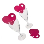 215-23803-PK £3 Pink Heart Place Cards - 10 Pack...  Click to view