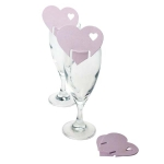 215-23803-PP £3 Baby Pink Heart Place Cards - 10 Pack...  Click to view