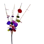 220-10339 £3.5 Multicoloured Bead And Sequin Circus Pick - 48cm...  Click to view