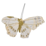 222-16303-GD £2 Grace Gold 10cm Butterflies On A Clip - Pack Of 4...  Click to view