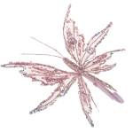 222-17903-PK £5 Pink Fabric & Glitter Two Tone Butterfly On Clip -...  Click to view