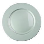 230-20046-SL £3.25 Luxury Lacquer Finish Silver Round Charger Plate -...  Click to view