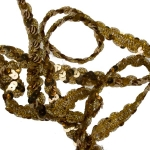 253-23192-GD £6.25 Gold Sequin Garland - 5m x 15mm...  Click to view