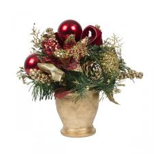 Traditional Room Decoration Collection - Round Centrepiece in a Pot