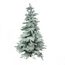 Snowy Alaskan Fir Artificial Christmas Tree - 2.1m (7ft)