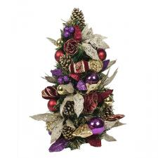 Spiced Wine Christmas Room Decoration Collection - Table Top Tree