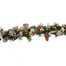 Precious Metal Christmas Room Decoration Collection - 1.5m Garland