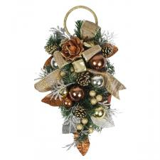 Precious Metal Christmas Room Decoration Collection - Door Hanger