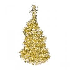 Gold & Silver Spiral Table Top Tree - 50cm
