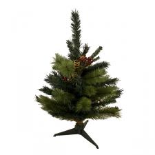Pine Green Table Top Tree - 70cm With 70 Tips