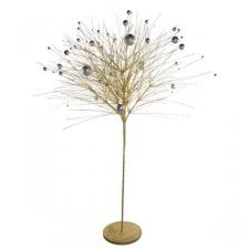 Gold & Silver Sparkle Burst Tree - 110cm