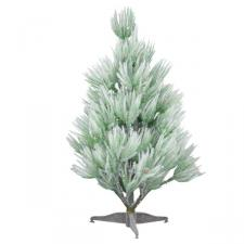 Green Frosted Cedar Table Top Tree - 34cm