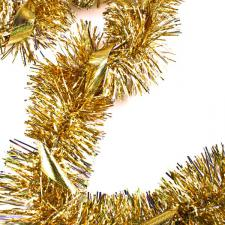 Holographic Gold & Silver Star Garland - 2m x 110mm