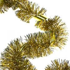 Gold/Silver Tinsel with Gold Ribbon - 2m x 100mm