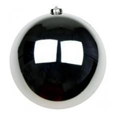 Silver Baubles - Shatterproof - Single 200mm