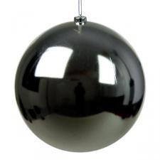 Silver Baubles - Shatterproof - Single 250mm