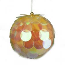 Iridescent Sequin Bauble - 80mm