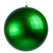 Green Metallic Finish Shatterproof Bauble - Single 400mm