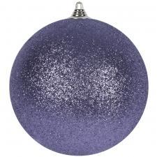 Purple Haze Shatterproof Glitter Bauble - 180mm