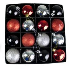 Merry Christmas Shatterproof Baubles - 16 x 60mm