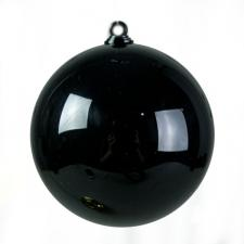 Black Opaque Splittable Bauble - 60mm