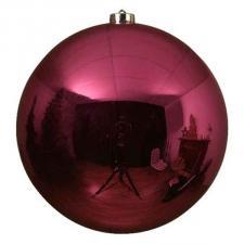 Bubblegum Pink Fashion Trend Shatterproof Baubles - Single 200mm